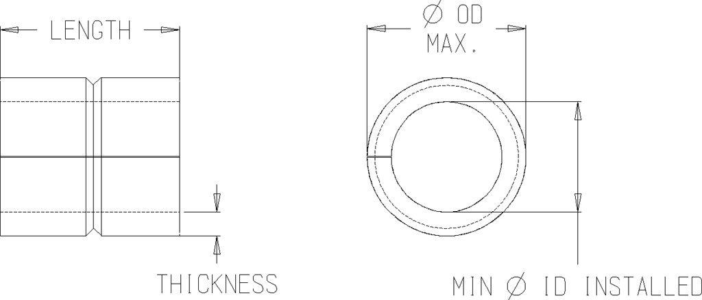 Compression Limiter - Closed Seam