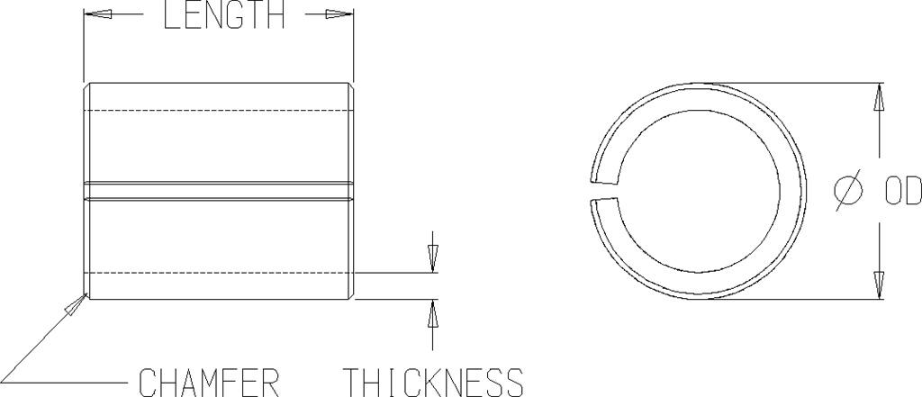 Compression Limiter – Split Seam – Press In, 8.8, Round