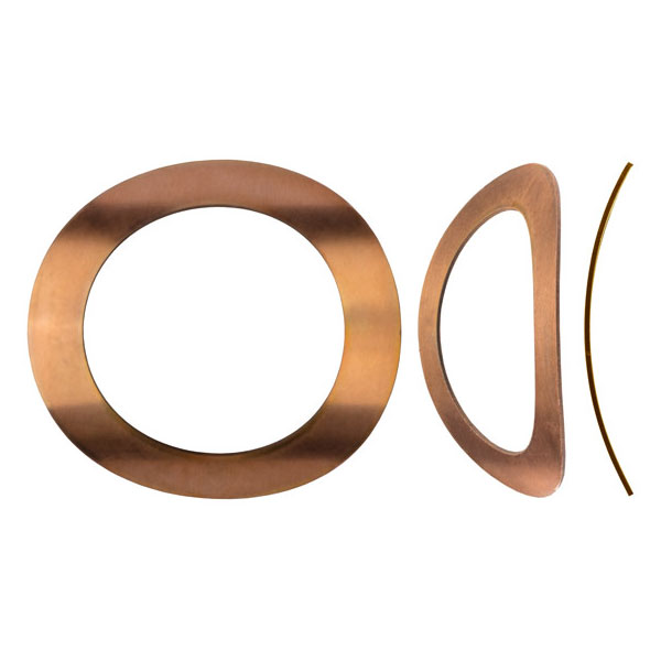 Curved Washers - Bronze