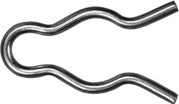 external hair pin cotter